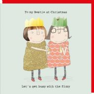 Rosie Made a Thing 'To My Bestie' Christmas Card